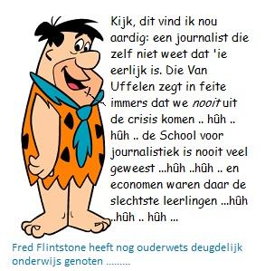 Fred flintst met tekst