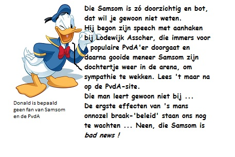 DonaldD over Samsom
