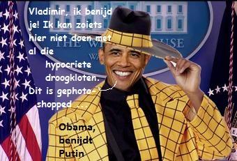 Obama envies Putin